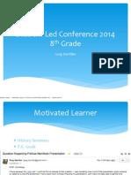 student led conference presentation