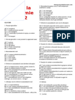 Biochimie teste grila 2012