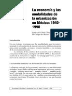 Modalidades de Urbanización Mexicanos