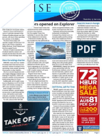 Cruise Weekly for Thu 15 Jan 2015 - Explorer opens doors, Venice lifts ban, Seabourn, Pandaw India, RCI agent deal and much more