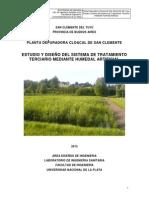 PLANTA DEPURADORA CLOACAL DE SAN CLEMENTE