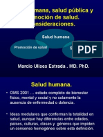 salud humana