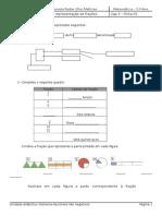Ficha 01 - Leitura e Representação de Fracções