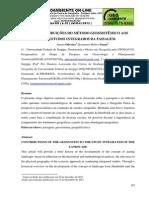 OLIVEIRA; MELO e SOUZA - Contribuições Do Método Geossistêmico Aos Estudos Integragos Da Paisagem