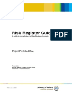 11.1 Risk Register Guide