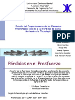 Exposición de Concreto Armado II