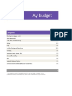 Copy of Simple Budget Planner