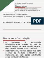 MPEE - Biomassa - Cana de Açúcar - Wagner José Nascimento de Oliveira