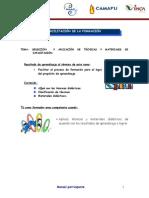 Tecnicas y Materiales de Capacitación