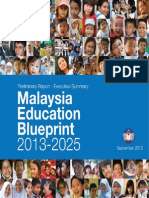 Malaysia Education Blueprint 2013 2025 Executive Summary