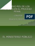 Elrol de Los Sujetos Procesales en El Spa.- 2011