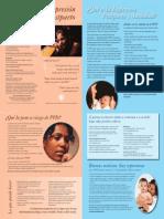 Postpartum Depression Spanish