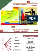 La Evaluacion Educacion Bolivariana
