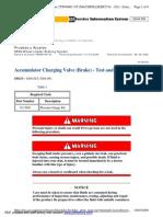 Pruebas y Ajustes Sistema de Frenos Cargador 988g Parte 1