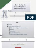 11 - Guia de Apoio a Construcao Do Relatorio Da PAP-2
