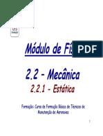 2 - 2.2.1 Mecânica-Estática_1