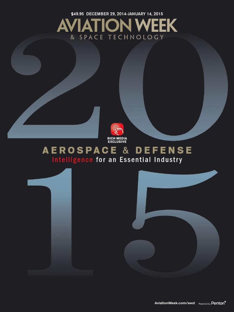 33457d762f9 Aviation Week   Space Technology - 29 December 2014