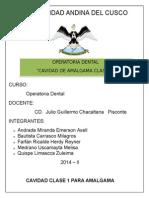 Amalgama Clase 1 Informe22
