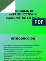 Presentacion Programa Curso Ciencias de La Vida