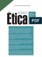 ÉTICA - UM ELOGIA A ETICA
