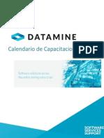 Datamine Calendario Capacitaciones 2015