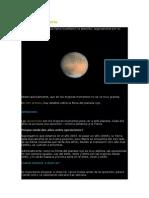 Observando Marte