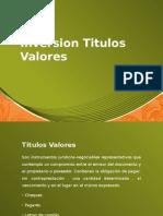 Inversion Titulos Valores