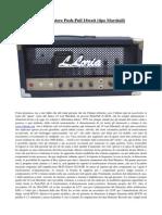 Costruire un amplificatore per chitarra da 18w