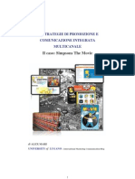 "COMUNICAZIONE D'IMPRESA, MARKETING & PUBBLICITA_""LE STRATEGIE DI PROMOZIONE E COMUNICAZIONE INTEGRATA MULTICANALE"" di ALEX MARI_UNIVERSITY of LUGANO (2008)"