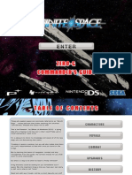 Infinite Space Zero G Manual US