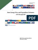 EIA Energy Expenditures 2007