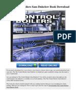 The Control Boilers Sam Dukelow