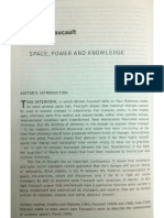 Space Power and Knowledge - Foucault