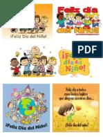 Tarjetas de Feliz Dia Del Niño