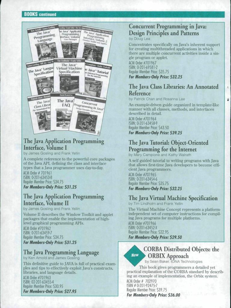 Concurrent programming in java lea java programming language concurrent programming in java lea java programming language application programming interface baditri Gallery