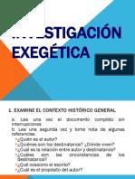 Exegesis General