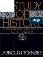 Arnold Joseph Toynbee, - A Study of History - Abridgement of Volumes VII-X