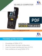 XT10 Training