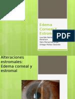 Edema Corneal Y Estromal