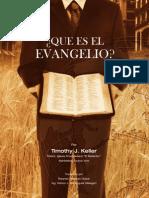 Que Es El Evangelio - Timothy Keller