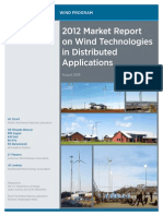 2012 Distributed Wind Technologies Market Report