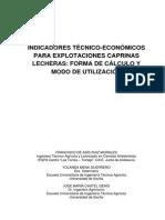 Indicadores Tecnico_economicos Para Explotaciones Caprinas_calculo y Modo de Utilizacion