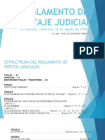 Reglamento de Peritaje Judicial