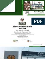 Memoria El Reto del Cambio Gran Mercado Mayorista de Lima