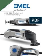 Dremel Product Accessory Catalog