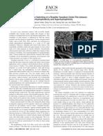 Uv driven Reversible Switching of a Roselike Vanadium Oxide Film Between