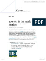100 to 1 in the Stock Market _ Seeking Wisdom