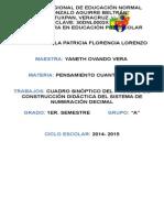 8 Proceso de Construcción Didactica Del Sist. de Numeración Decimal.