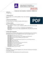 NB-CPD 12 544 - EOTA Report to SCC October 2012 - Status of ETAGs, Guidelines for European Technical Approvals, And ETAs