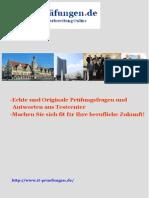Microsoft MCTS 70-642 deutsche Zertifizierungsfragen